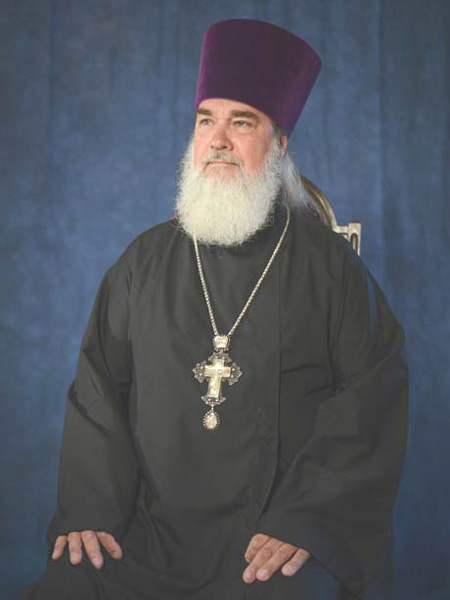 Mitred Archpriest Serge Lukianov - Rector